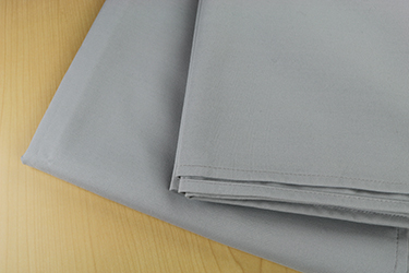 52 X 52 ROYAL CREST 100%  POLYESTER TABLE TOPS - GREY - CARTON PACKED 5DZ